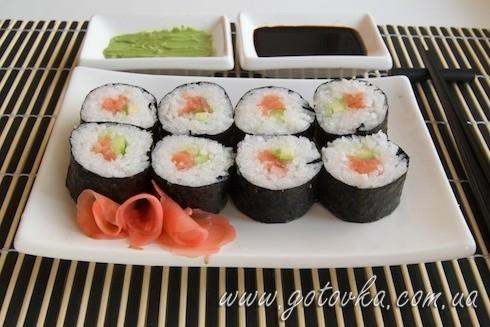 Суши с сёмгой рецепты