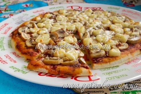 Пицца начинается с теста
