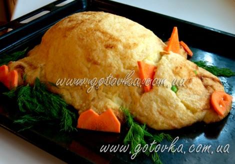 поросенок из картофеля