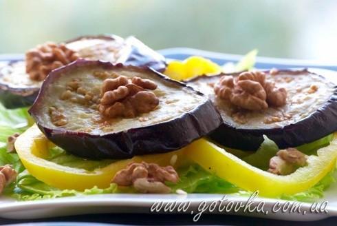 Турецкий салат из баклажан