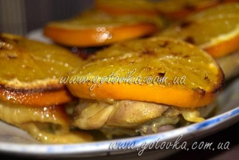 золотистая курица в духовке рецепт
