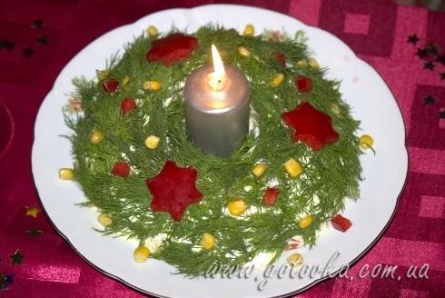 Оливье - украшение салатов к Новому Году и Рождеству