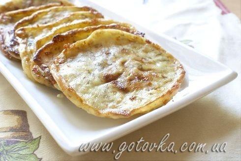 Ленивые хачапури сырные оладьи