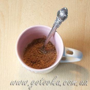 Бисквит в чашке готовим в микроволновке