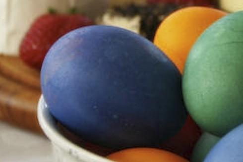 крашанки пасхальные яйца