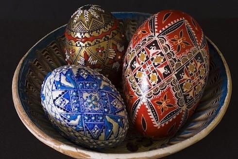 пысанка пасхальные яйца