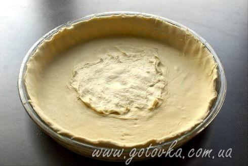 Тарт пирог вишневый