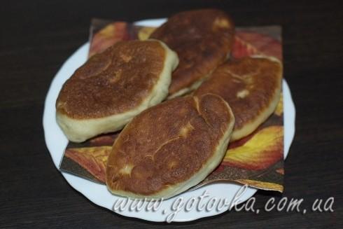 Пирожки жаренные с картошкой и грибами