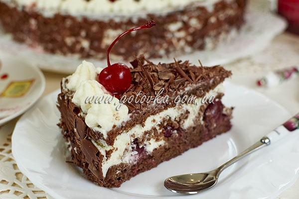 """Торт """"Черный лес"""" (Шварцвальдский вишневый торт)"""