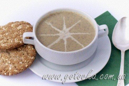 Суп пюре из сельдерея с грибами