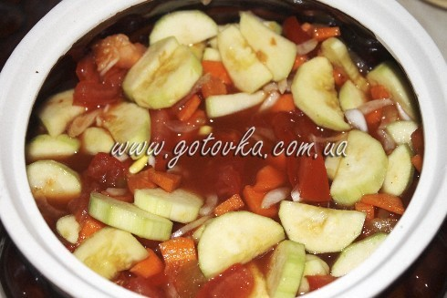овощи в горшочках постные