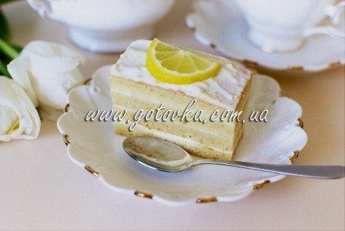 Рецепт пирога лимонного