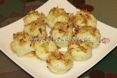 картофленьные клецки постные