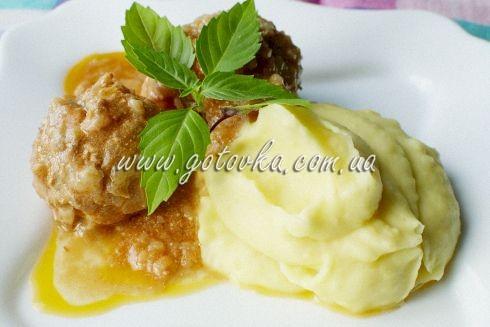 рецепт картофельное пюре