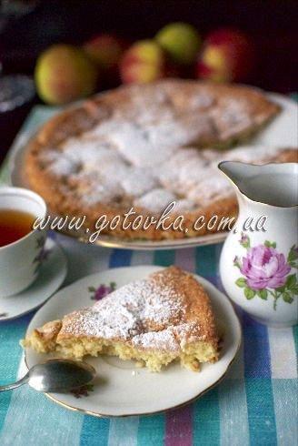 как приготовить яблочный пирог шарлотка