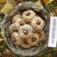 новогоднее печенье с фундуком