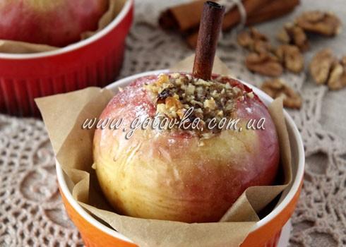 запеченые яблоки с медом
