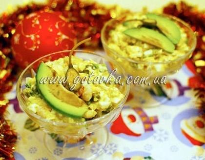 Оригинальный рецепт оливье с креветками и каперсами