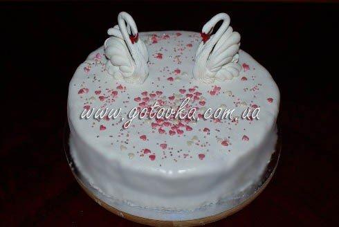 как сделать свадебный торт из мастики своими руками