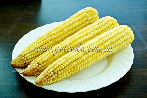 кукуруза сваренная в пароварке