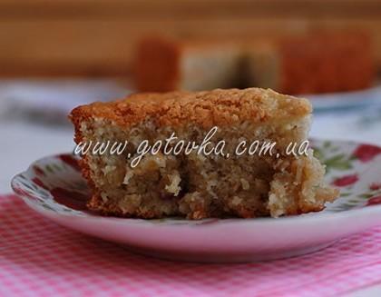 Пирог из готовой овсяной каши
