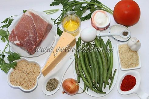 продукты для запеканки из фасоли