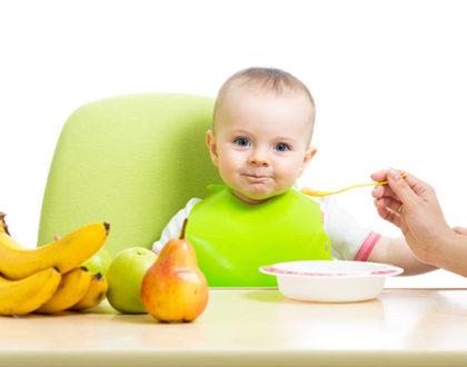 Правильный прикорм малыша до года