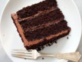 Шоколадный торт – изюминка праздничного застолья