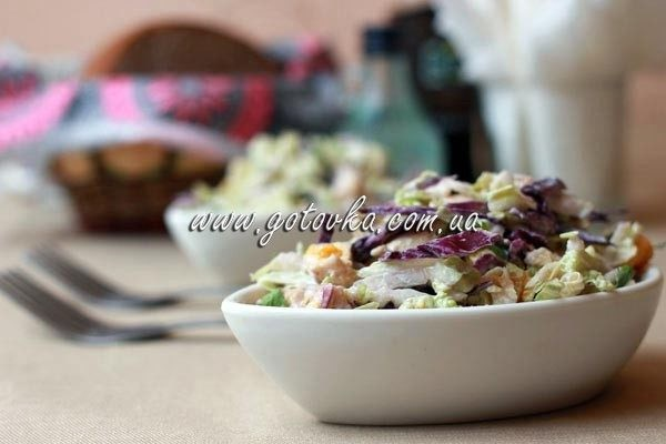 салаи из куриного филе и тыквы