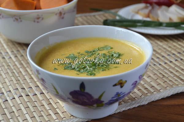 тіквенній суп пюре