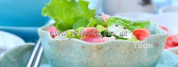 Легкие летние салаты для поддержания фигуры