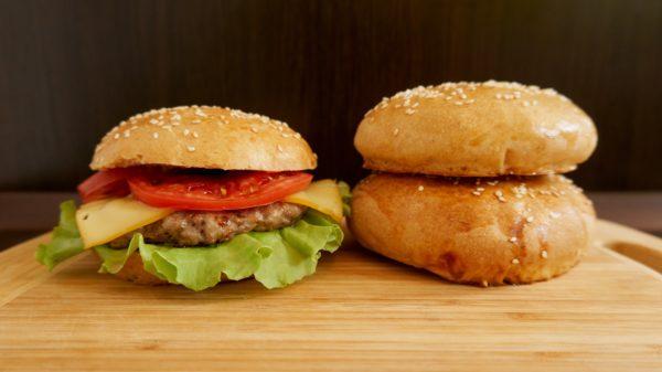 Мягкие булочки для бургеров